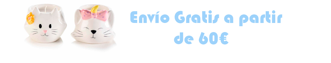 Envio gratis a partir de 60€ Península y 150€ Baleares y Canarias
